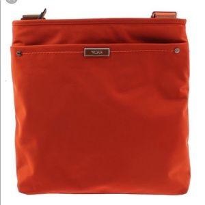 Tumi crossbody color orange